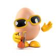 Egg drinking