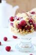 Delicious raspberry dessert