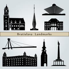 Bratislava landmarks and monuments