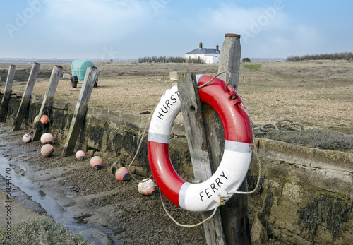 Lifebouy at Hurst