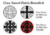 Fototapety Crux sancti patris Benedicti - Krzyż św. Benedykta
