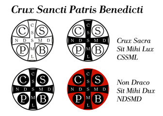Crux sancti patris Benedicti - Krzyż św. Benedykta