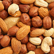 Nuts background
