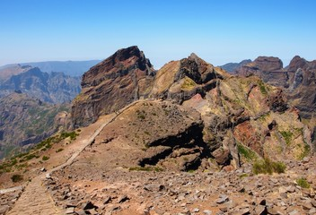 Pico do Arieiro - the highest place in Madeira island