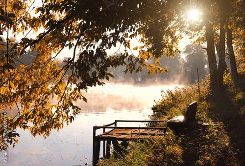 Fototapeten,see,herbst,landschaft,natur