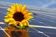 canvas print picture - solaranlage