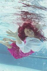 Portrait Unterwasser