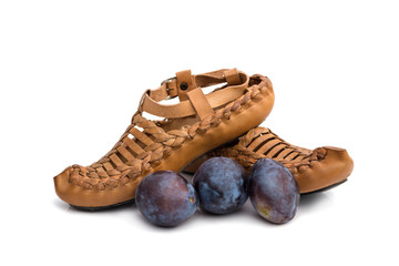 traditional Serbian shoes