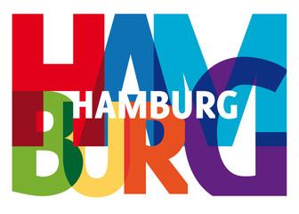 Hamburg Schriftzug