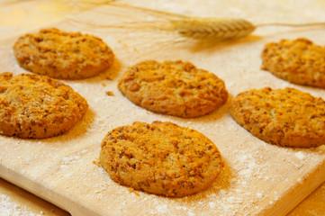 bran flake cookies