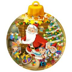 Happy christmas decoration