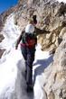 Bergsteiger - Tofana di Mezzo - Dolomiten - Alpen