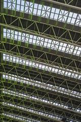 鉄骨の天井