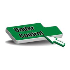 Under control button