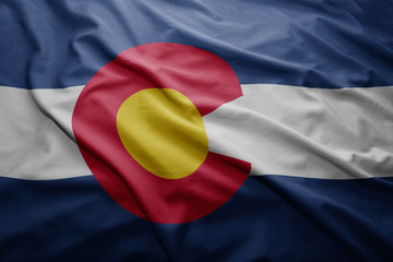 Flag of Colorado state