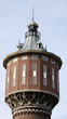 Water tower is building in 1908 in Sneek.The Netherlands