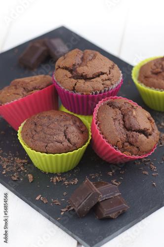 muffins au chocolat en moule 2