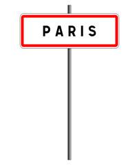 Paris panneau france