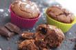 muffins au chocolat en miettes 2