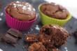muffins au chocolat en miettes 3