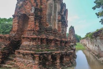 タイ・アユタヤの遺跡