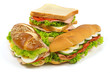 canvas print picture - Sandwich Sortiment