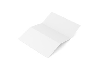 Briefpapier gefalzt Hintergrund