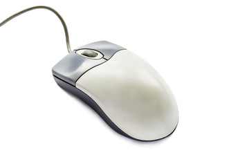 Gray pc mouse