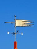 Weather vane.