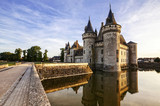 Sully-sur-loire. France. Chateau of the Loire Valley.