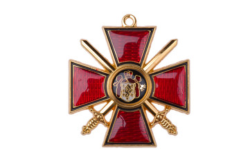 badge of the Order St Prince Vladimir