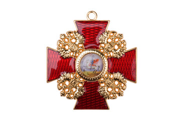 Badge of the Order St Stanislaus
