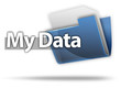 "3D Style Folder Icon ""My Data"""