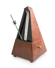 metronome isolated on a white background