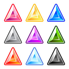 Colourful Triangle Diamonds