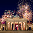 Leinwandbild Motiv Silvester in Berlin