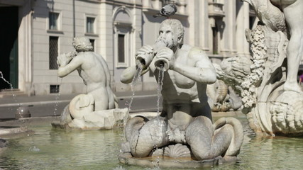 Fountain of the Moor, Rome