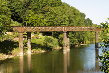 Old railway bridge, Redbrook.