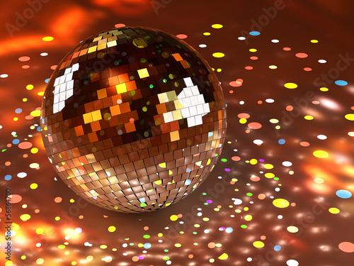 Mirror ball loop - Let's dance!