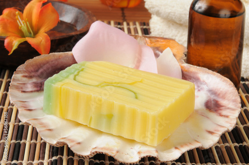 Luxury spa soap