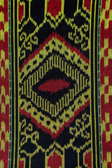 Iban traditional fabric also known as pua kumbu