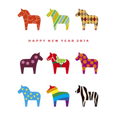 New year Card 2014