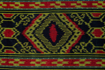 traditional iban fabric also known as pua kumbu