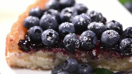 Sweet Blueberry Tart