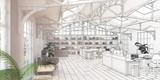 Büroflächen-Sanierung (Zeichnung) - 56869711