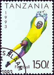Football goalkeeper (Tanzania 1993)