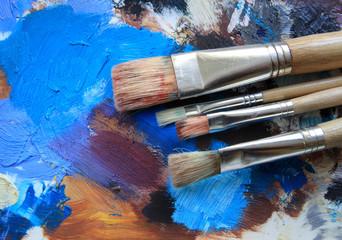 Palette & Pinsel