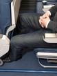 Legroom on aircraft