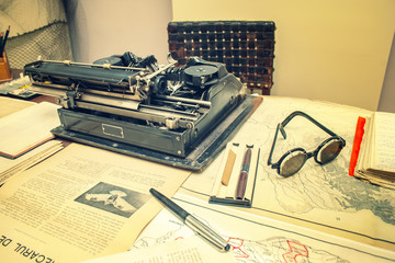 old journalism objects