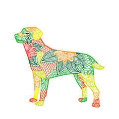 Dog illustration- Chinese zodiac